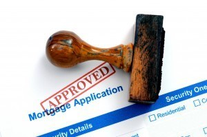 Mortgage application that has been approved
