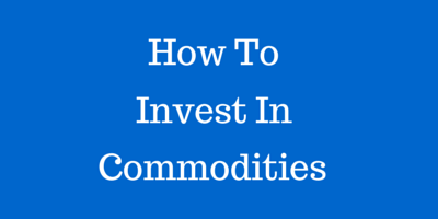Shows how to invest in the commodities market