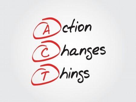 The key to reversing stress in your life is to make changes and you can only do that through taking action