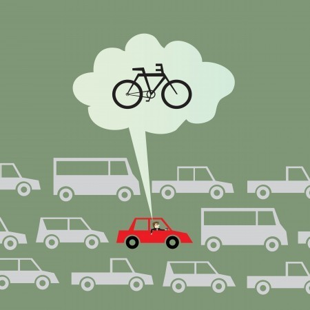 You can save on car insurance by limiting the number of miles you drive. How can you do that? One way is to ride your bike instead of putting miles on your car. Increased exercise never hurt either!