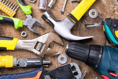 Hammer, wrench, drill and other hand tools