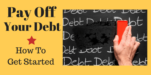 How to get started paying off your debt, credit cards and loans