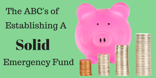 How to build and emergency fund or rainy day fund