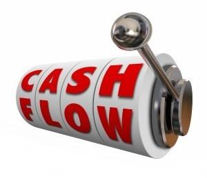 Graphic representation of cash flow