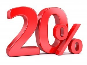Do you have 20% down payment in order to buy a house?