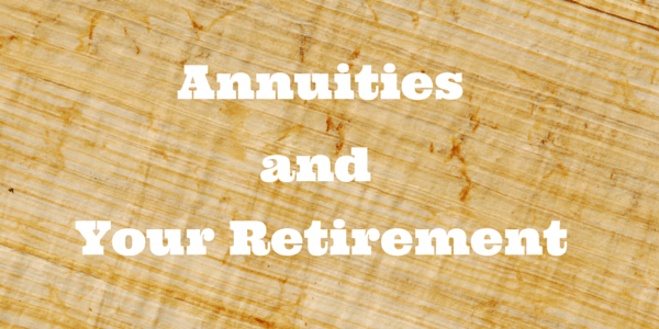 Should an annuity be part of your retirement plan? How do annuities fit into your financial goals?