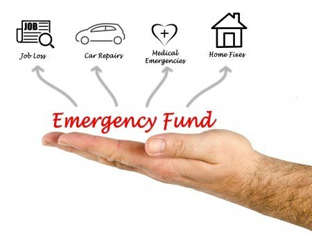 An emergency fund ensures that you won't have to go into debt when life's little mishaps happen