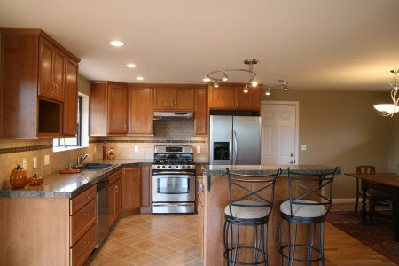 A freshly remodeled kitchen