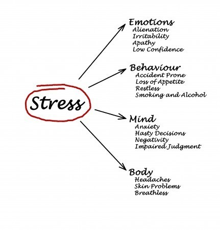 The consequences of having stress in your life