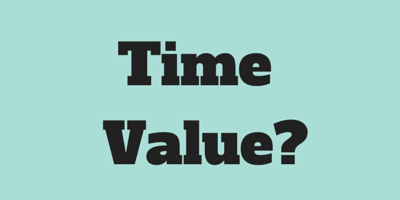 What is the value of your time?