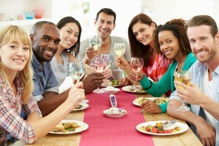 Sometimes the best times are spent with family and friends. Simply enjoying a meal together is a wonderful bonding experience.