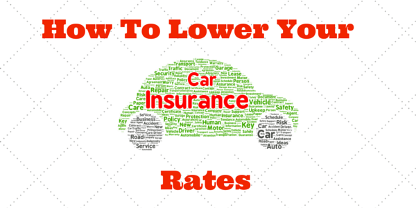 How to Lower Your Car Insurance Rate
