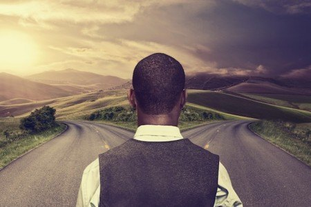 Life is full of crossroads and choices we must make