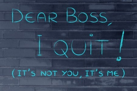 Quitting your job can be a good feeling!