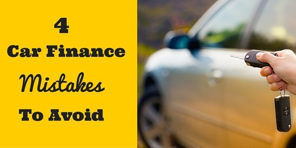 4 Mistakes I Made When Financing My Car