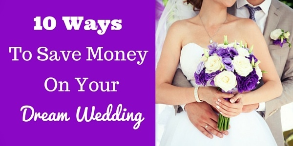 Getting married is expensive! Here are several was to save money while tying the knot