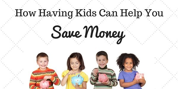 Did you know kids can help you save money if you have them?